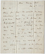 image of darwin-letter